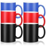 CALCA 36 Pack 11oz Ceramic Color Changing Sublimation Coffee Mug Blanks, Magic Cup, Full Color Changing