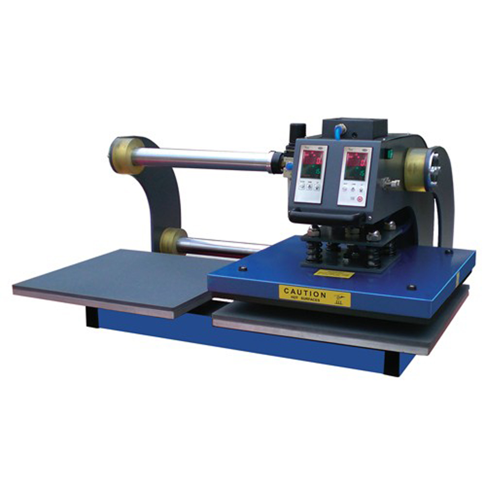 """Ving 15"""" x 20"""" Pnenumatic Heat Press Machine with Double Working Tables"""