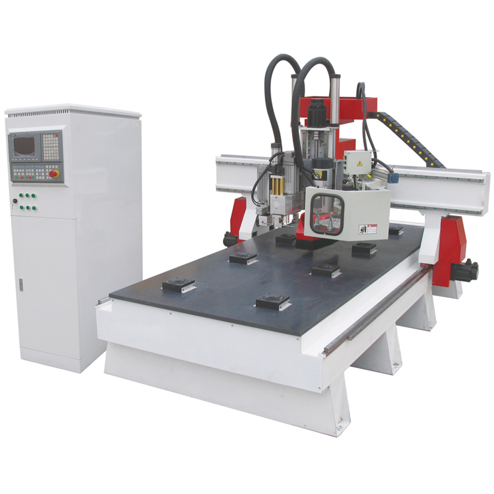 """51"""" x 98"""" 1325 Woodworking CNC Center, with Italian combination drills and Auto-tool Changer system"""