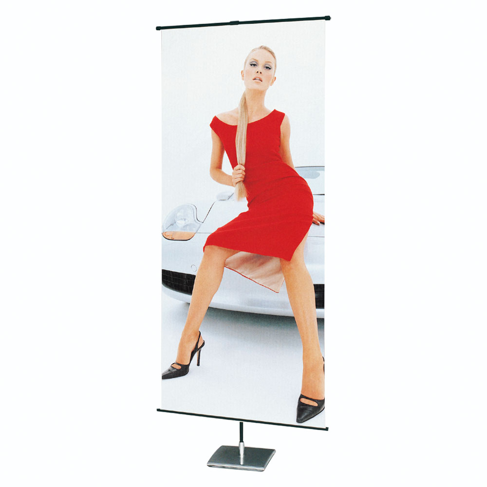Square Base Poster Banner Stand (Stand only)