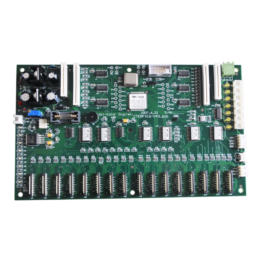 WIT-COLOR 720 Carriage Control Board