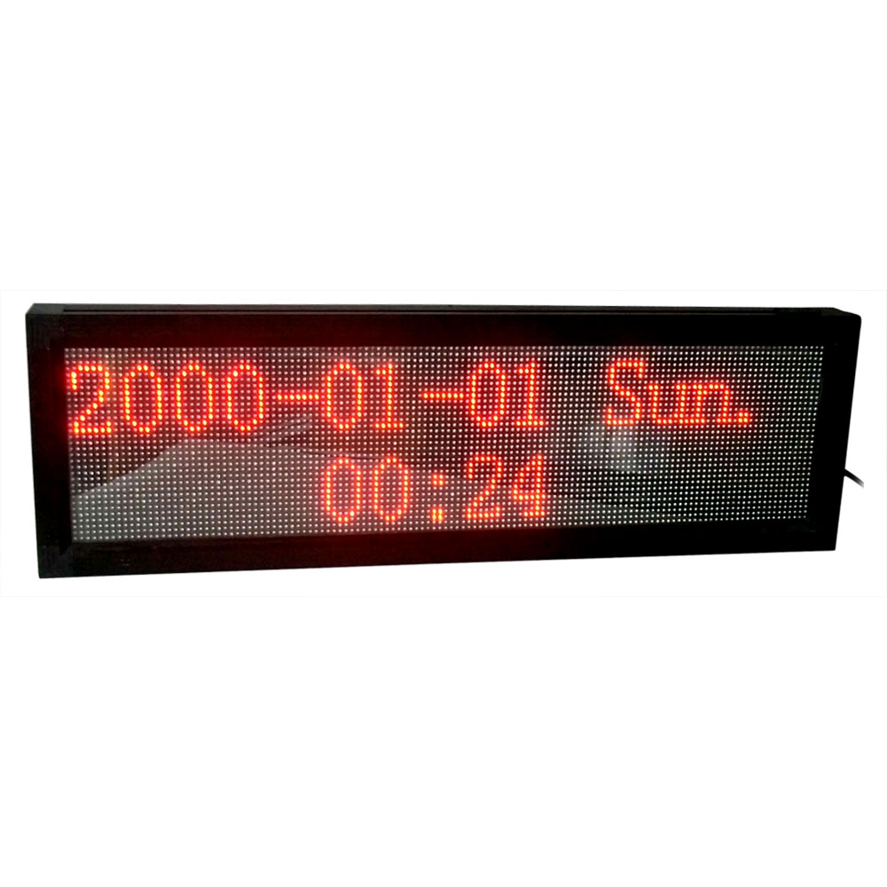"""69"""" x 11"""" Indoor 4 Lines LED Scrolling Sign(Tricolor or Single Color)"""