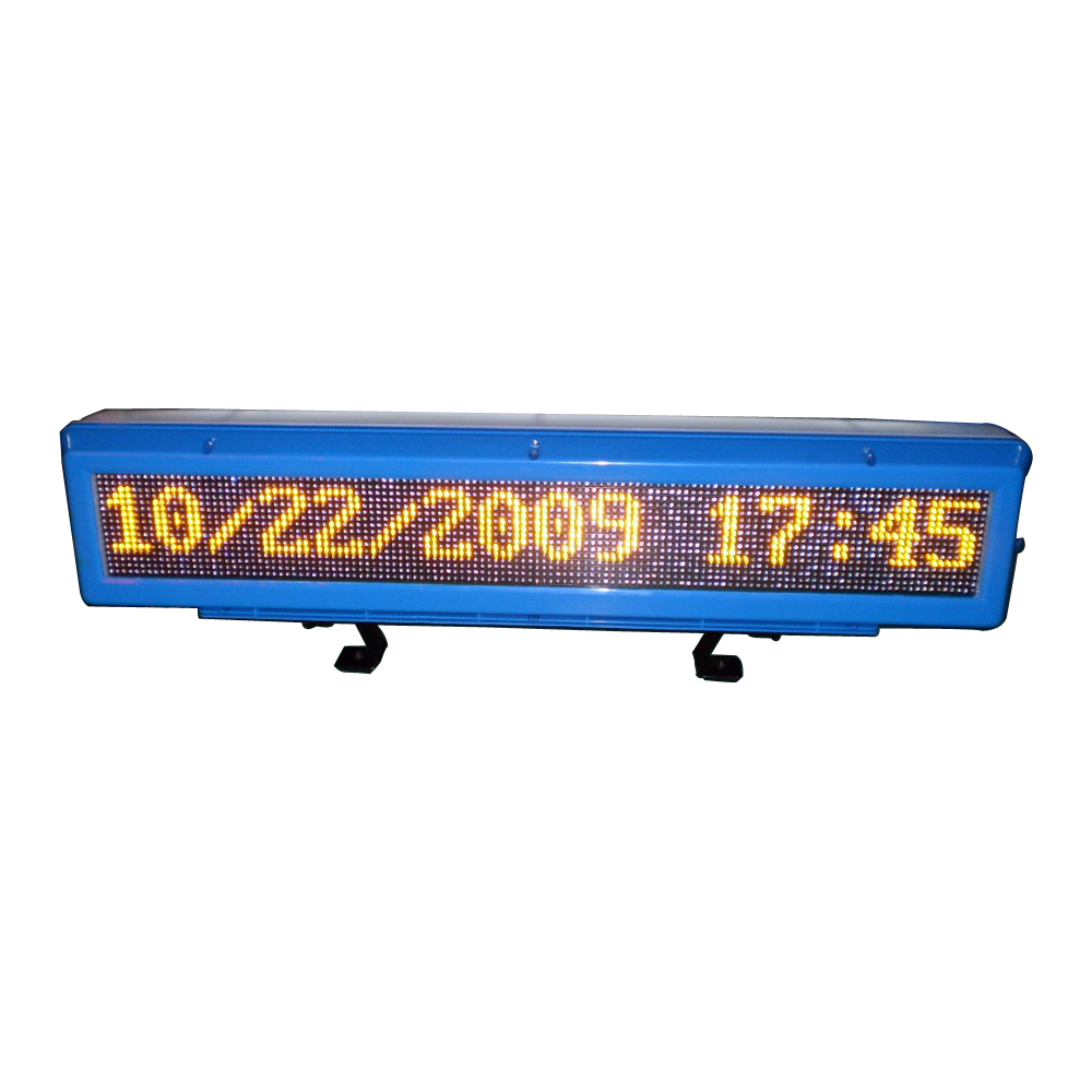AutoLED Message Display Outdoor LED Screen Series(set on the Roof of the Motor)