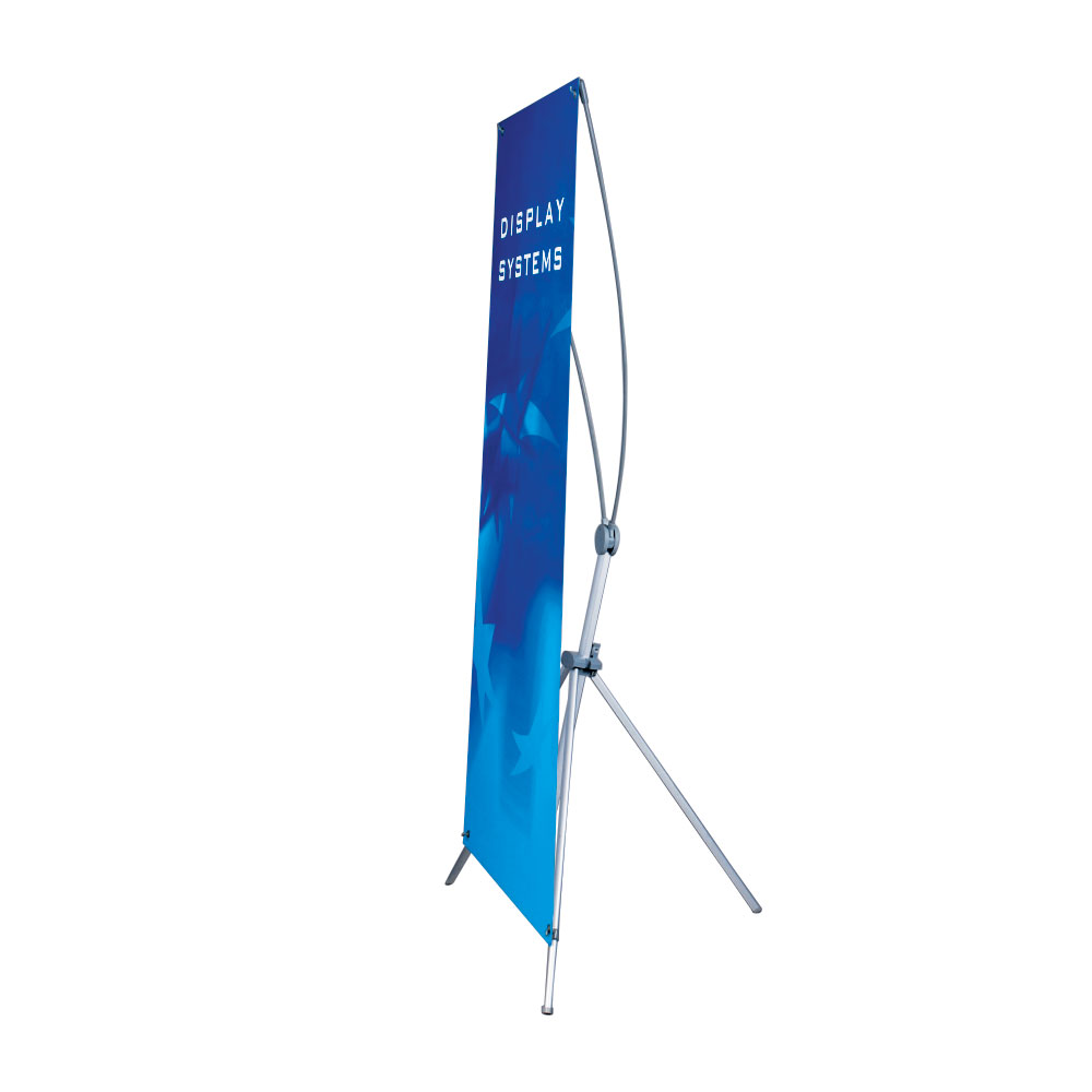 Classic Adjustable Size X Banner Stand