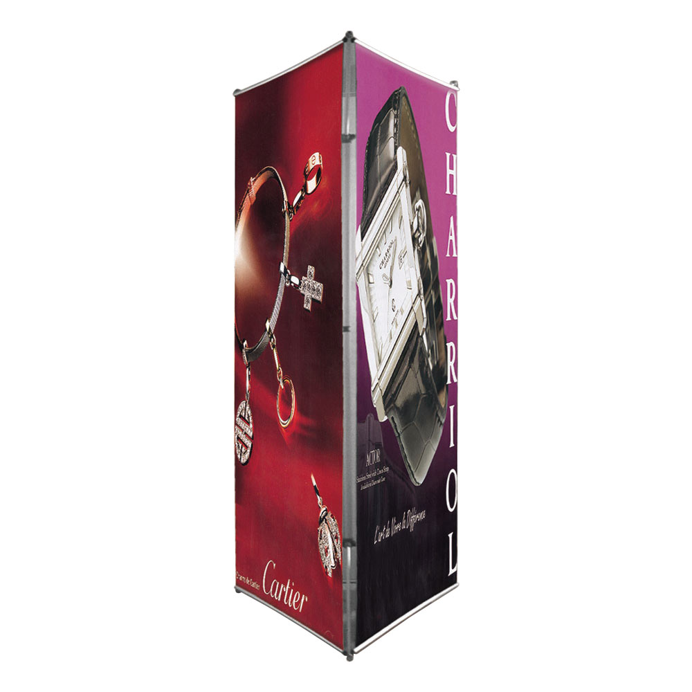 Three Sided Banner Stand(Graphic Printed)