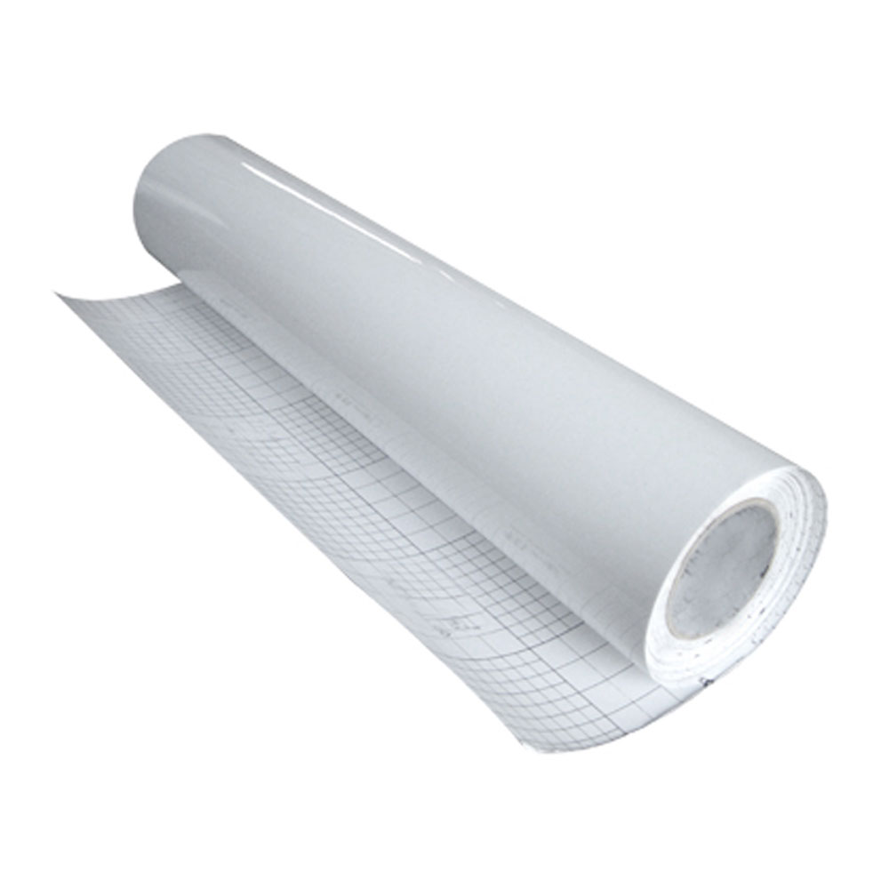 """60"""" (1.52m) Top Cold Laminating Film (Leather textile surface for Ad.)"""