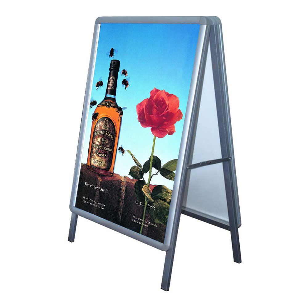 """Big Size Double Sided Snap Frame Poster Display Stand 35.5"""" x 47.5""""(Frame only)"""
