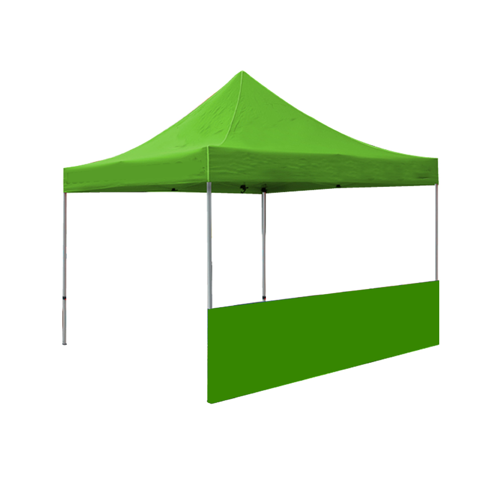 10ft Canopy Half Wall(Solid Color)