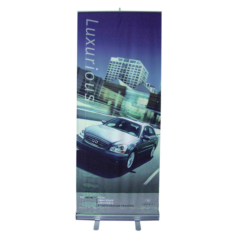 """33""""W x 79""""HGood Quality Standard Roll Up Banner (Graphic Include)"""