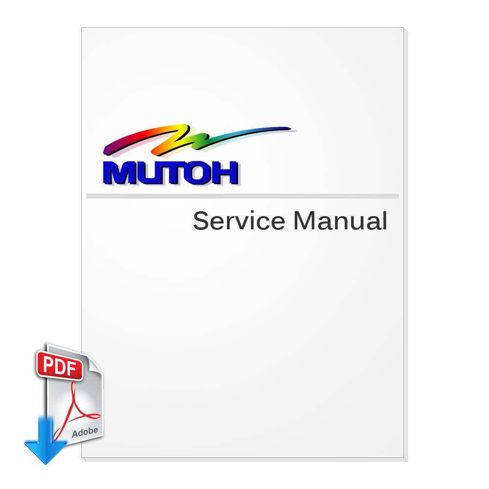 MUTOH DrafStation, DrafStation Pro (RJ-900C, RJ-901C) Series Service Manual (Direct Download)