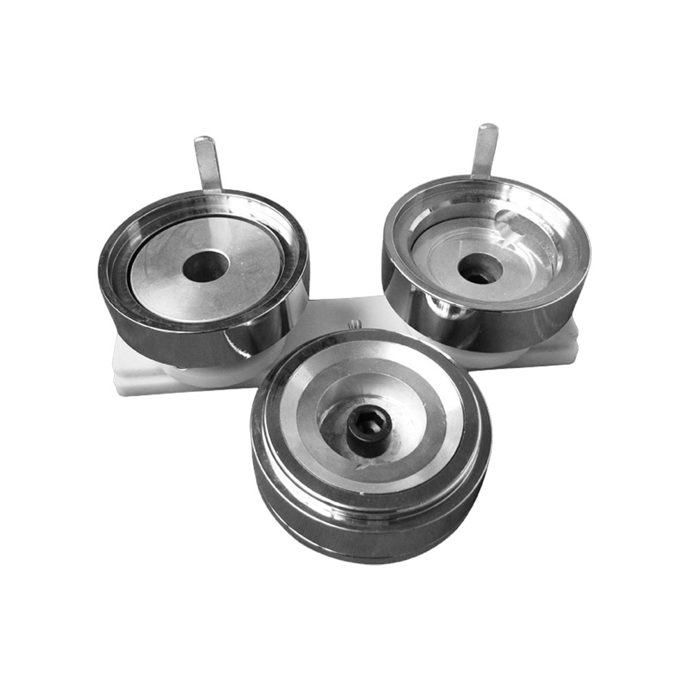 """1-1/4"""" (32mm) Economic Round Interchangeable Die Mould with Plastic Slide Rail for DIY Badge Maker Machine"""