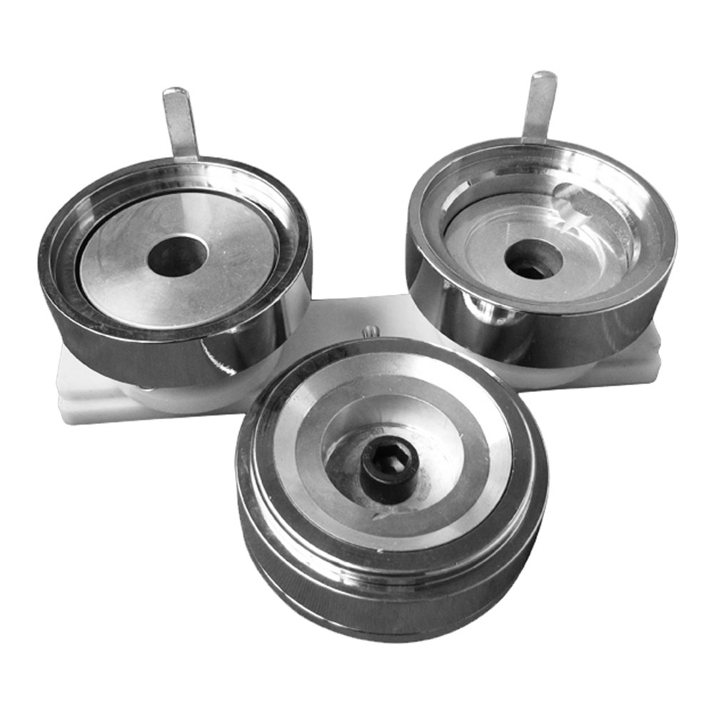 """2-1/4"""" (58mm) Economic Round Interchangeable Die Mould with Plastic Slide Rail for DIY Badge Maker Machine"""
