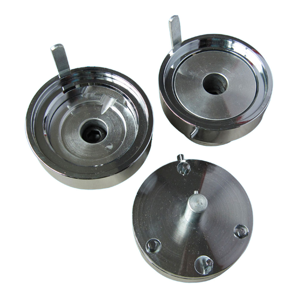 """4"""" (100mm) New Split Type Round Interchangeable Die Mould for DIY Badges Making"""