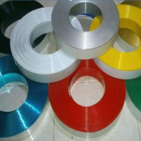 """80mm (3.1"""") x 50m (164ft) Roll Color Aluminum Return Coil (With Folded Edge, 2 Rolls / ctn) for Channel Letter Sign Fabrication Making"""