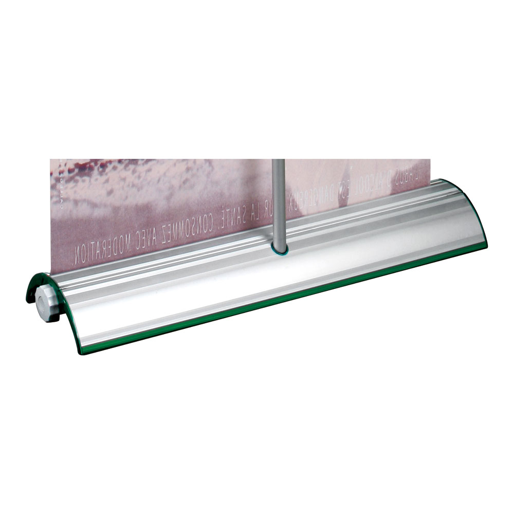 """33"""" W x 79"""" H High Quality Folding Base Roll Up Banner Stand (Stand Only)"""