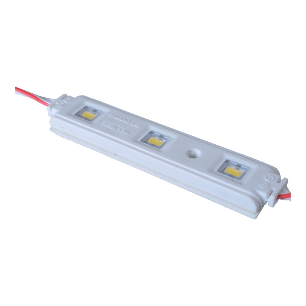 Samsung SMD 5630 High Power Waterproof LED Module (3 LEDs, 1.2W, L83 x W15 x H6mm) for Channel Letters