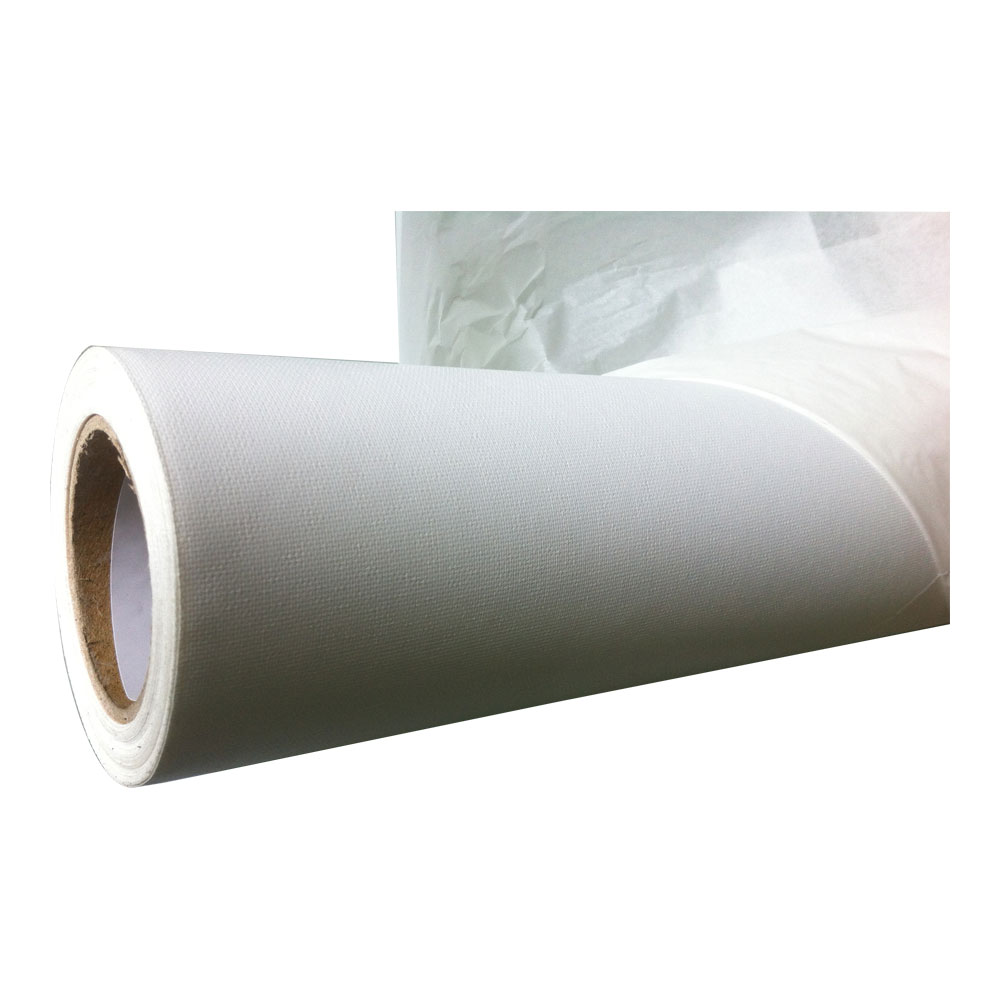 """(250gsm)High Glossy Polyester Canvas 44""""(1.12m)"""