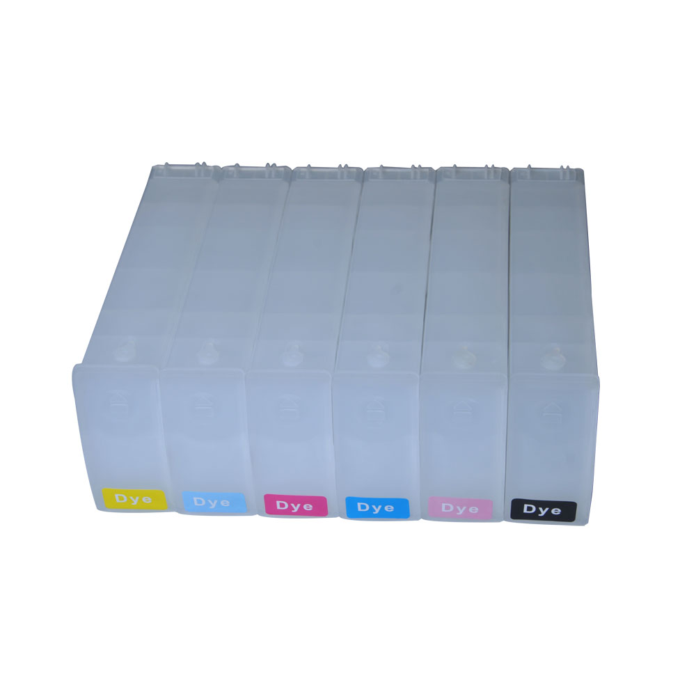 680ml Refilling Cartridge for HP DesignJet 5500 / 5100 / 5000 / 1050 / 1055 / z6100 6 Colors CMYKLCLM