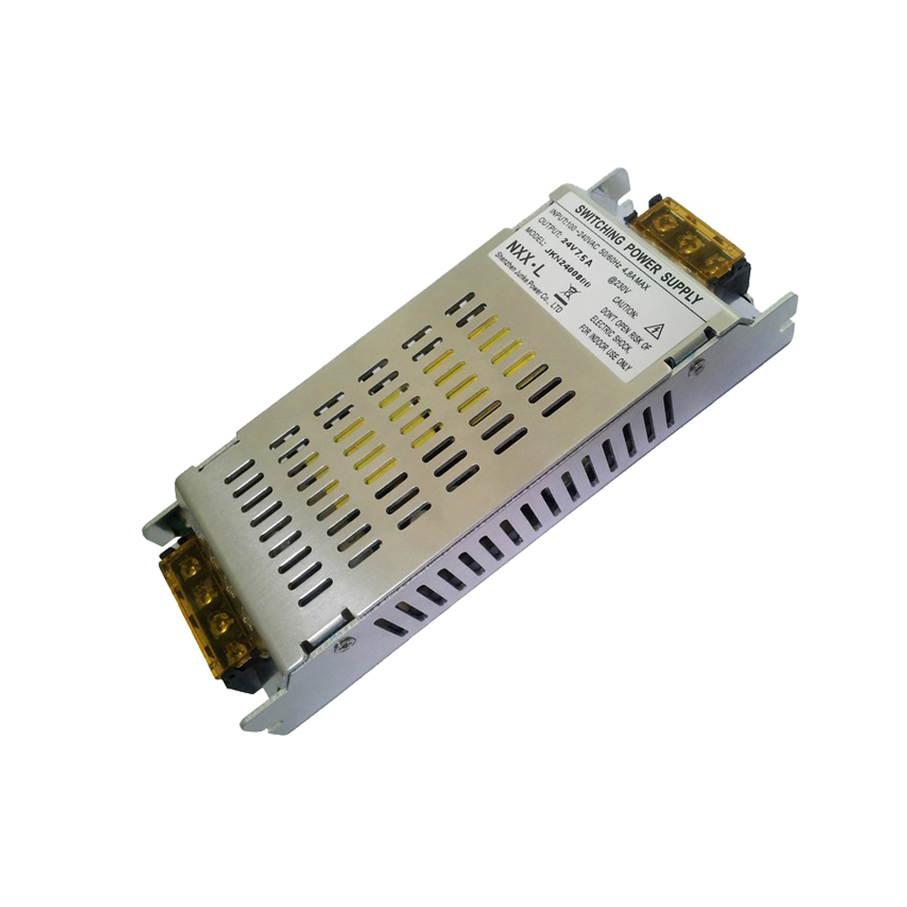 180W AC100V-240V to DC 24V 7.5A Non-Waterproof Metal Cover Universal  LED Switching Power Supply (for LED Lighting)