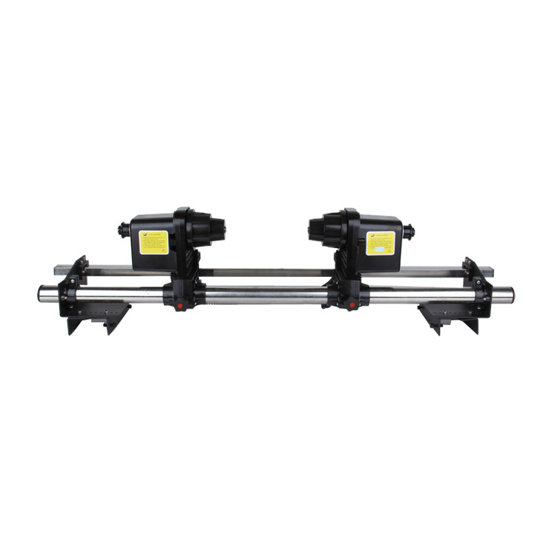 """54"""" Automatic Media Take up Reel SD54 Two Motors for Mutoh/ Mimaki/ Roland/ Epson Printer"""