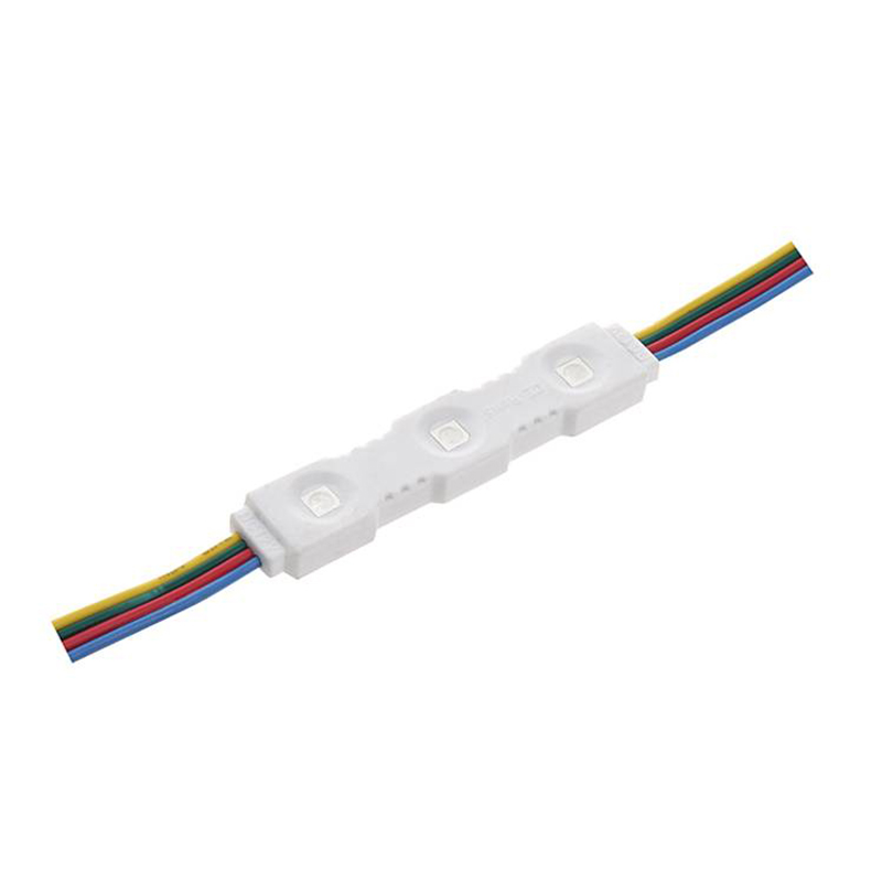 SMD 5050RGB 0.72W 75*15*7.2  Injection LED Module 120° IP65 12V DC LED Module