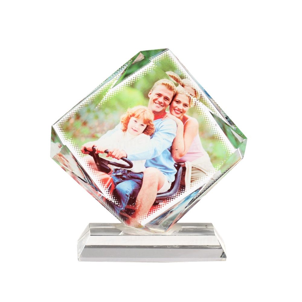 Sublimation Coating Blank Crystal Chiseled Octagon