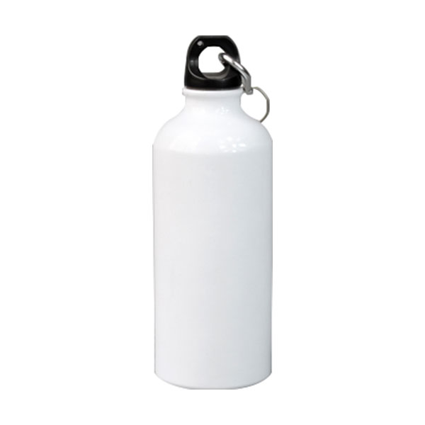 """500ml Blank Aluminum Sports Bottle For Sublimation Printing, Dia 2.68"""""""