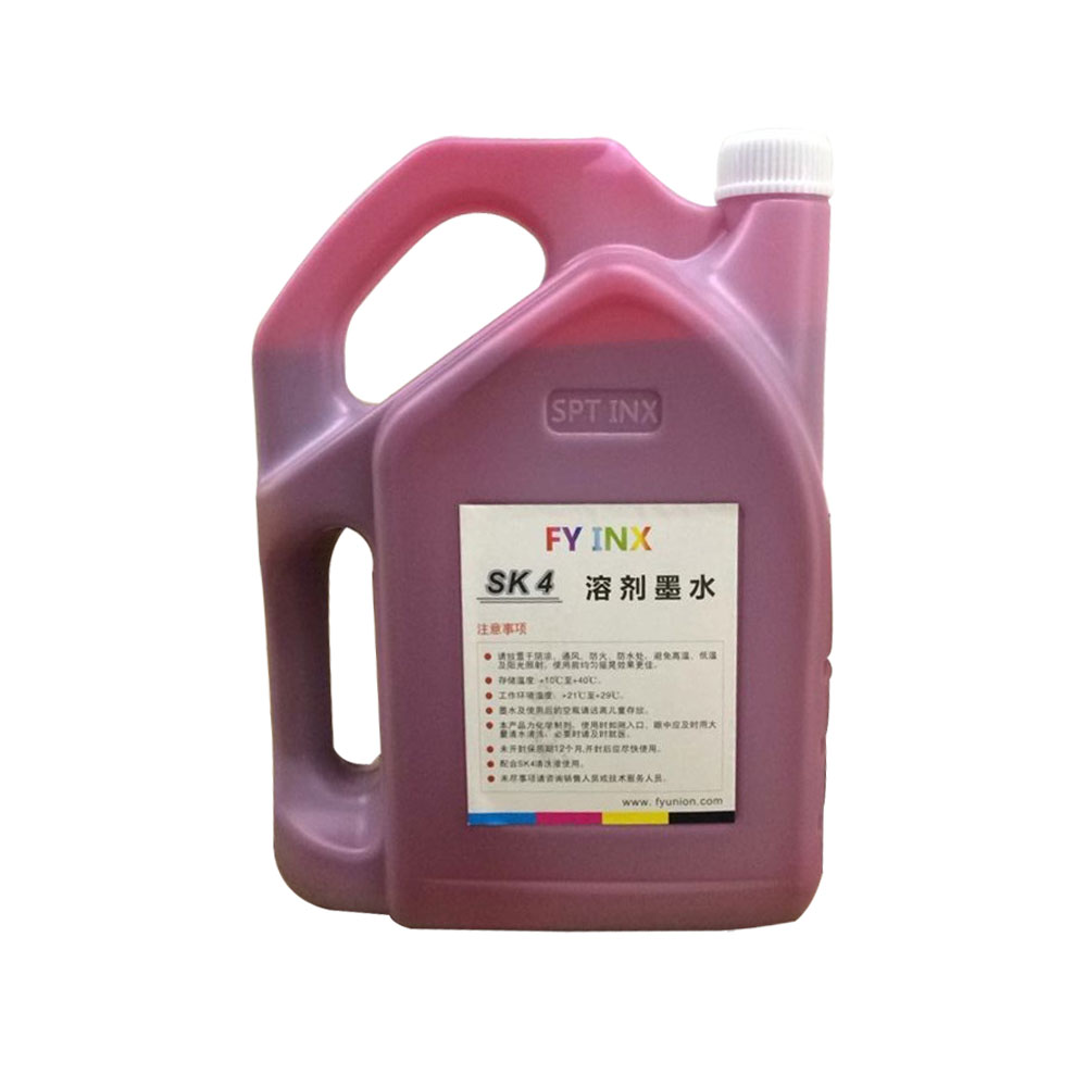 SK4 Solvent Ink For Seiko Printhead