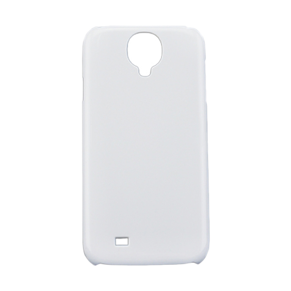 3D Sublimation White Samsung S4 Blank Cell Phone Case Cover for Heat Transfer Printing