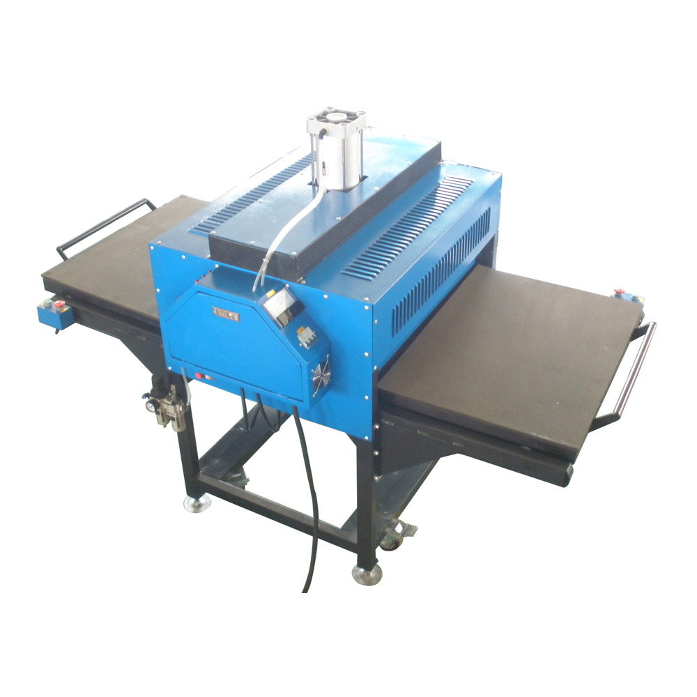 """24"""" x 31"""" Pneumatic Double-Working Table Large Format Heat Press Machine with Pull-out Style"""