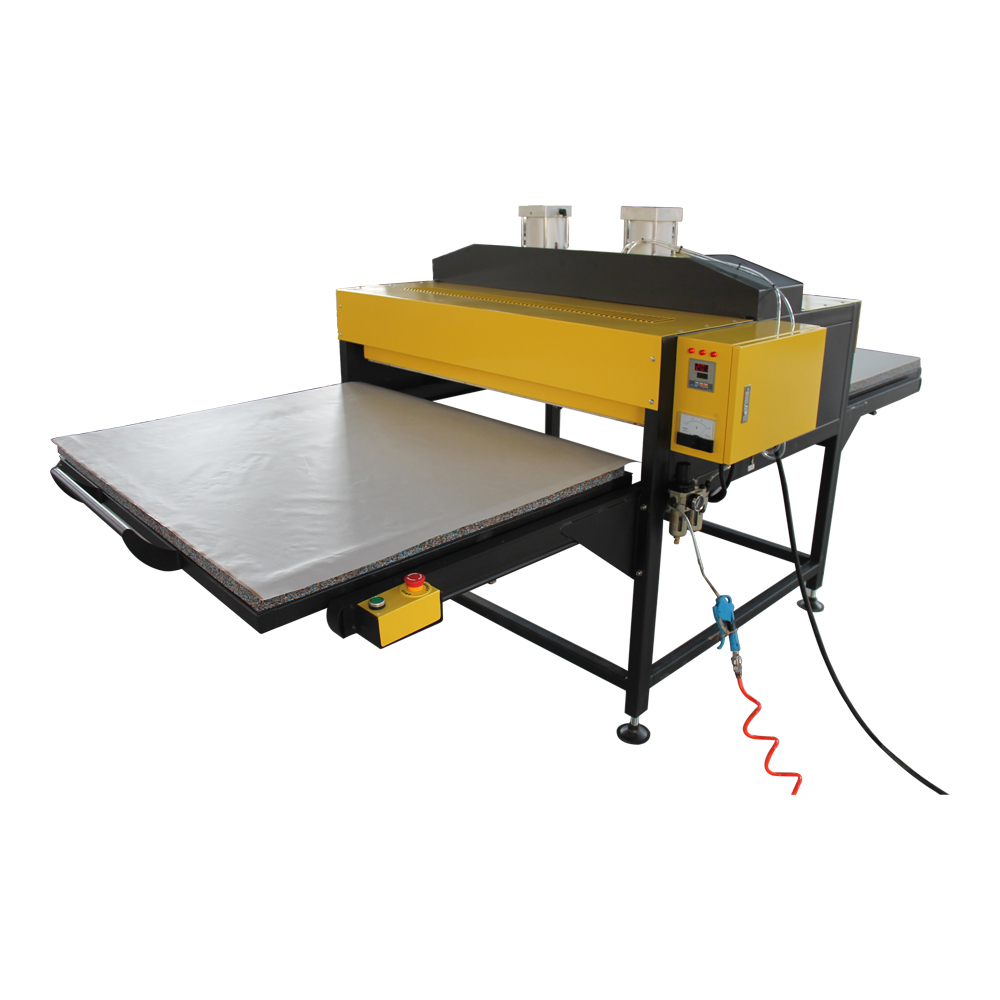 """39"""" x 78"""" Auto Pneumatic Double Working Table Large Format Heat Press Machine with Pull-out Style"""