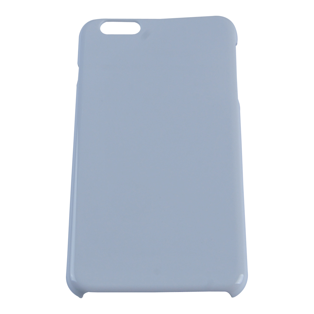 3D Sublimation White IPhone 6 Plus Blank Cell Phone Case Cover for Heat Transfer Printing