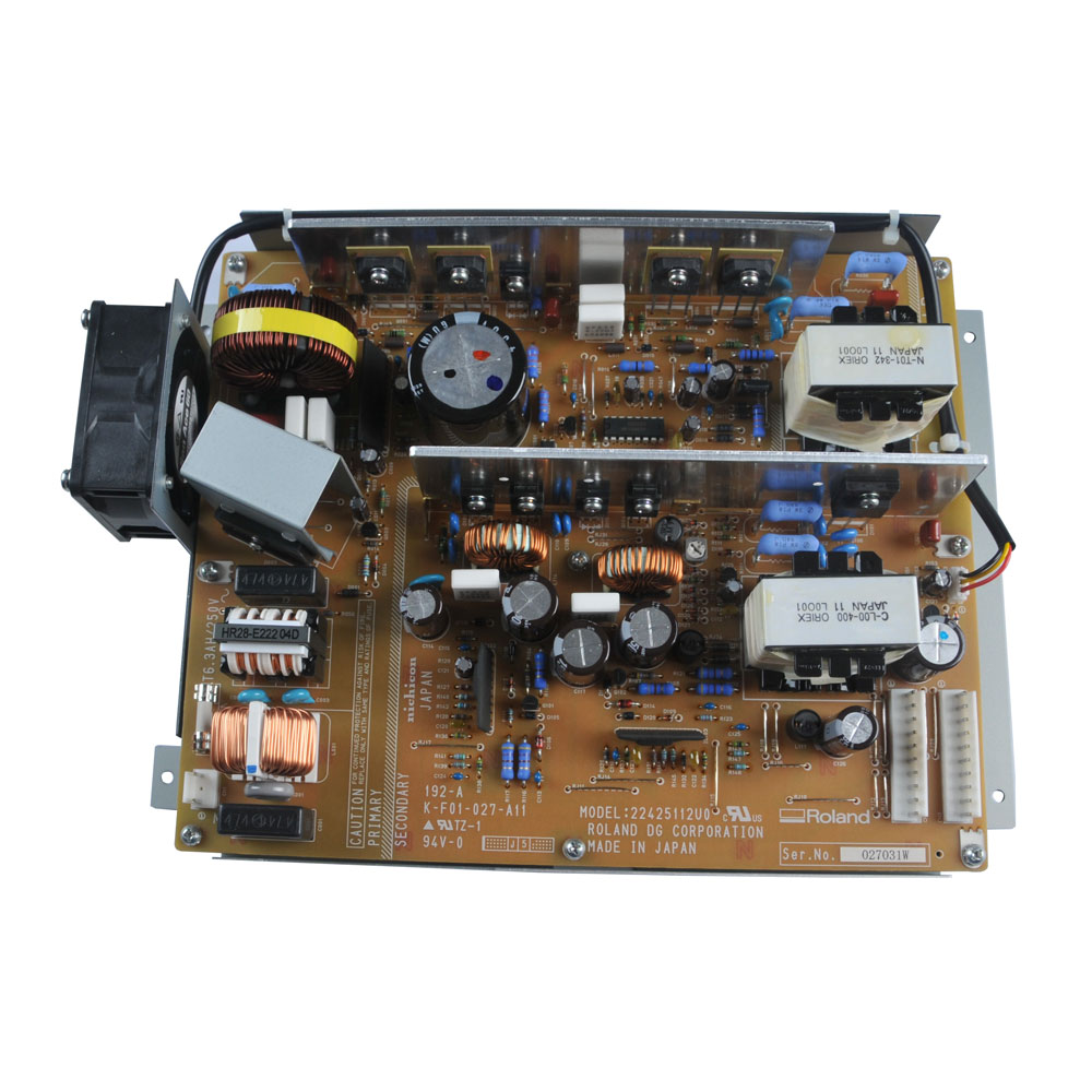 Original Roland SJ-740 / SJ-540 / FJ-740 / FJ-540 Power Supply Board - 1000007552