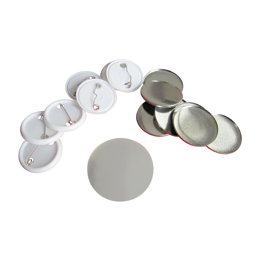 1000pcs 37mm Blank Pin Badge Button Supplies for Badge Maker Machine