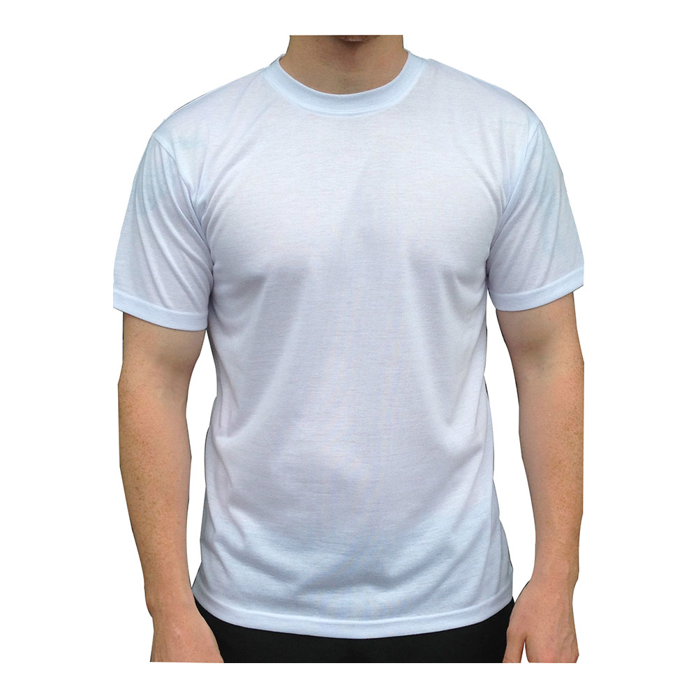 Plain White Sublimation Blank Modal T-Shirt for Men
