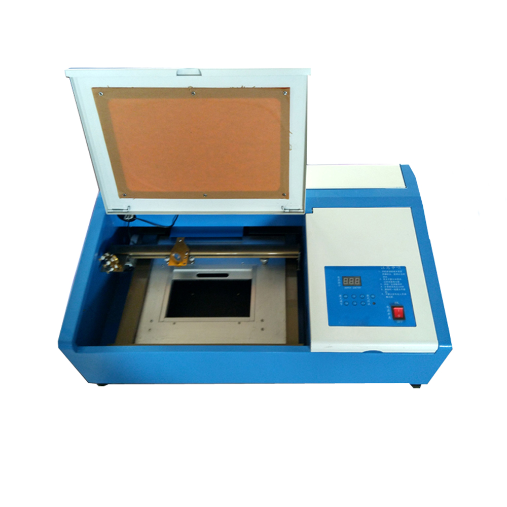 300mm x 200mm Desktop CO2 Laser Engraving Machine, with Up and Down Table, 40W Laser