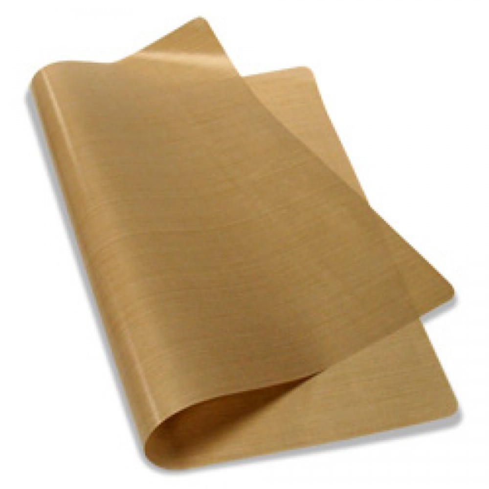 """16"""" x 24"""" PTFE Coated Fiberglass Fabric Sheet 5Mil Thickness for Sublimation Printing"""
