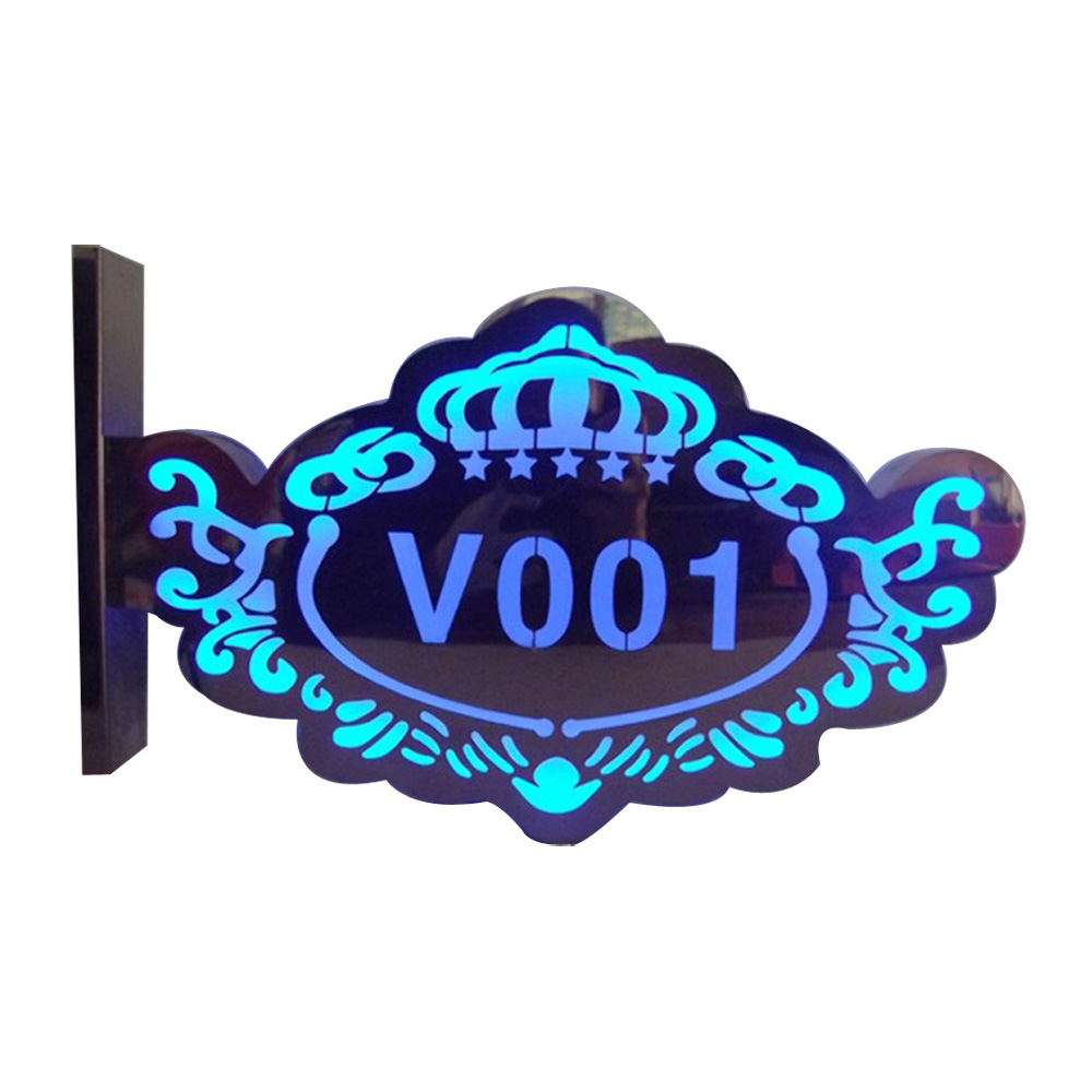Double Sided LED Advertising Light Box Sign, Shop Sign, Door Sign for House, Bar, Café, Characteristic Scenic Spot