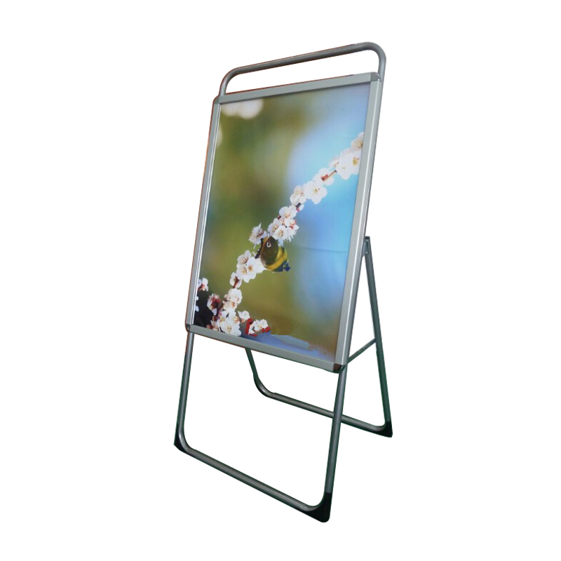 New Single Sided Freestanding 90x120cm A Frame Whiteboard Poster Stand Street Sign Display Board (Without Graphic Printing)