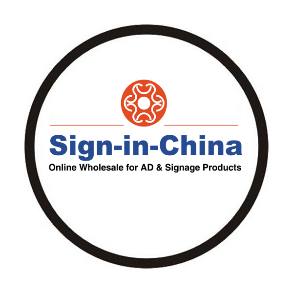 Customized THREE Color LOGO Advertising Light Films for Logo Projector Light 37X26mm