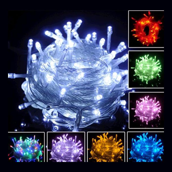 10M 100 LEDS Male&Female Connected String Light