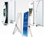 X/L/H Frame Banner Stands