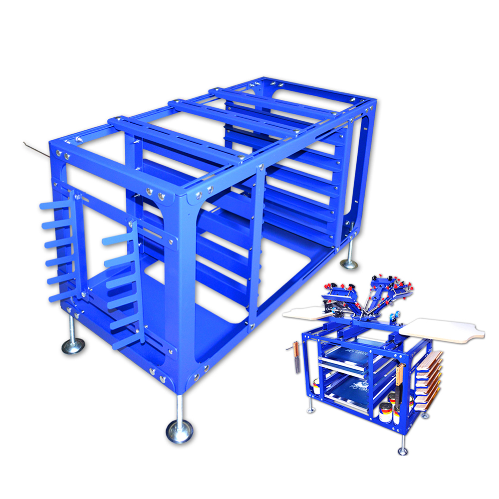 Screen Printing Material Holding Rack Work Table Screen Printing Equipment