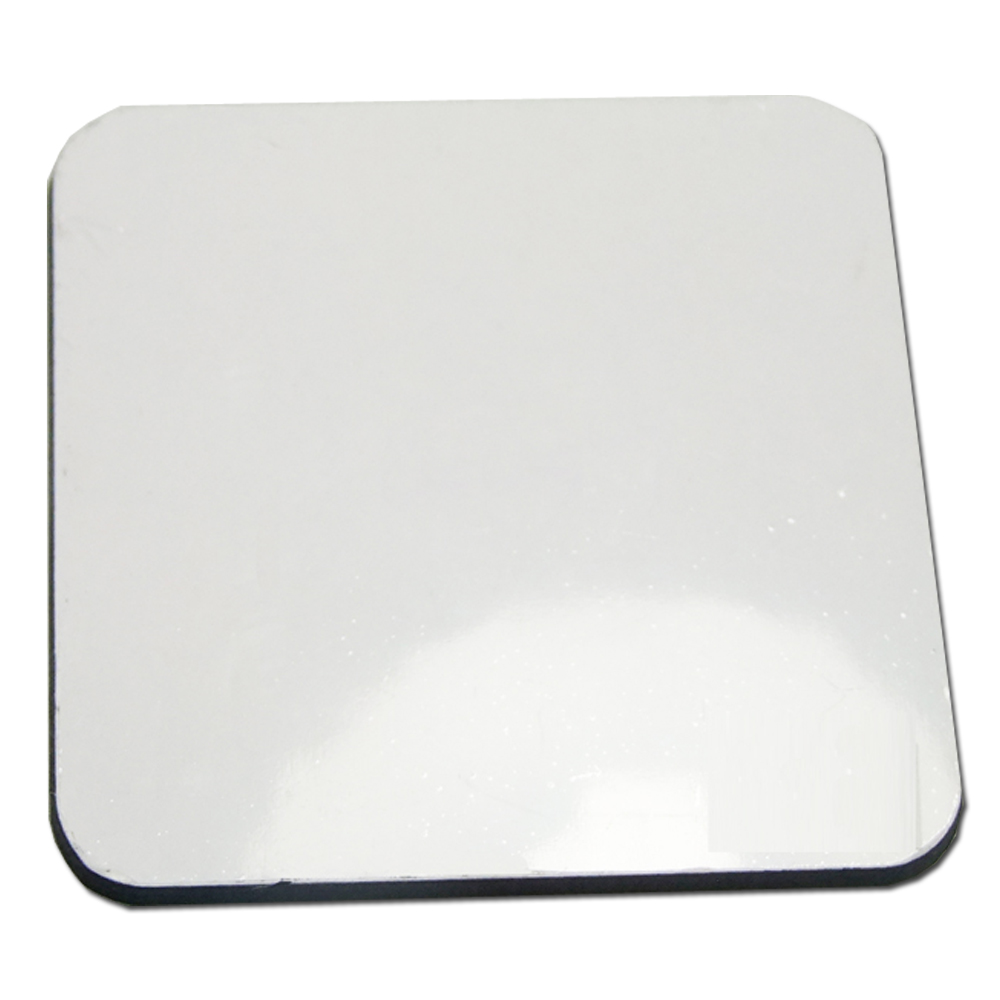 20pcs/parcel Blank Sublimation Coated MDF Coasters with Cork Back