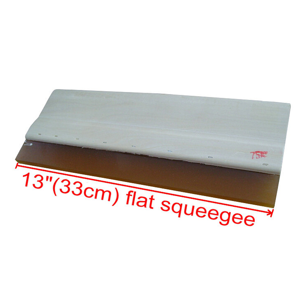 High Quality Silk Screen Printing Wood Squeegee Ink Scraper 75 Durometer - 13 In.