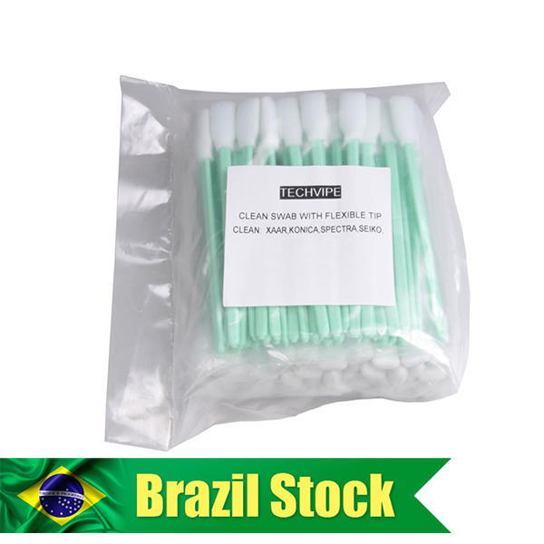 """BR Stock-300 pcs Foam Cleaning Swabs for Epson / Roland / Mimaki / Mutoh Inkjet Printers 5"""" Long"""