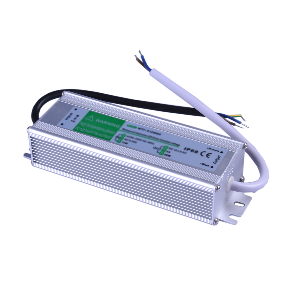 60W AC100V-240V to DC 24V 2.5A Waterproof Metal Shell LED Power Supply Transformer Driver(for LED Module/LED Strip/LED Bar)