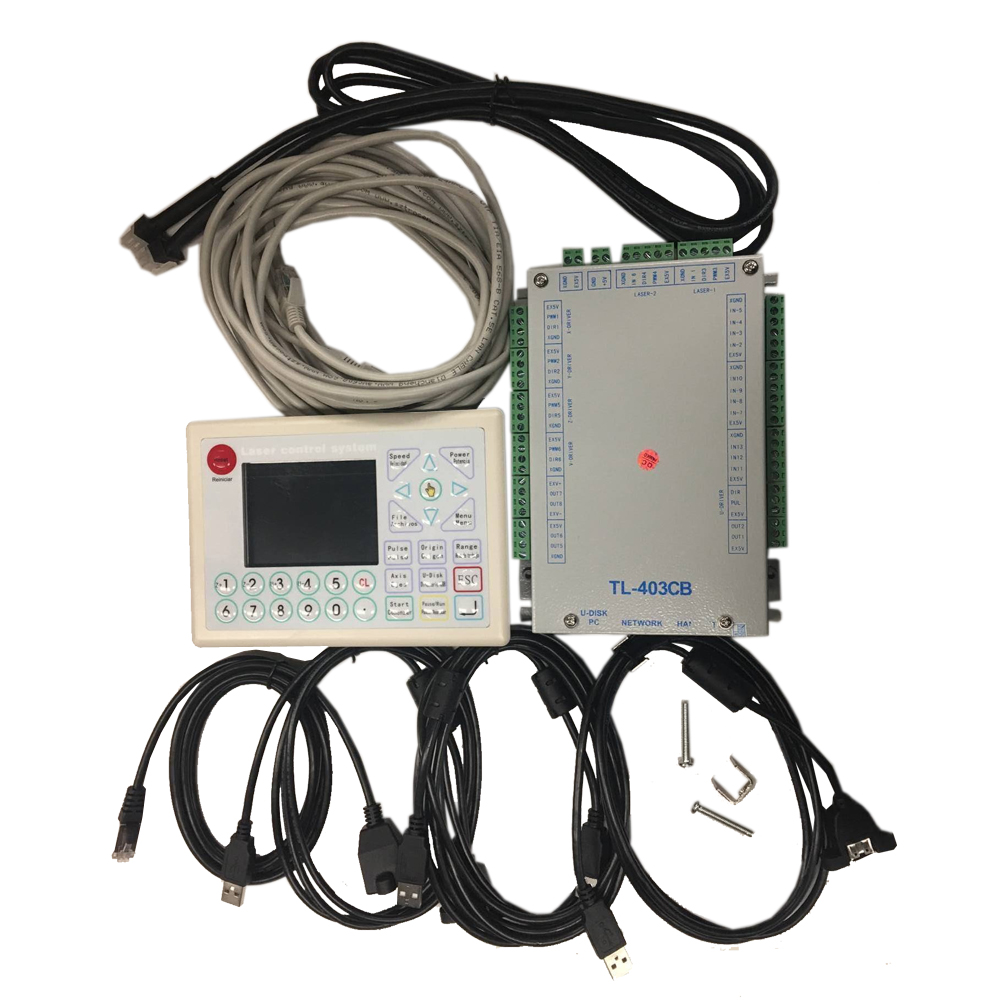 Topwisdom TL-403CB Laser Controller System for CO2 Laser Cutting / Engraving System