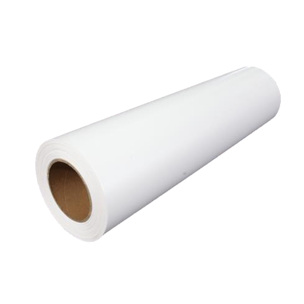 """US Stock, 19.7"""" x 98´ Roll White Color Eco-Solvent Printable Heat Transfer Vinyl For Dark T-shirt Fabric"""