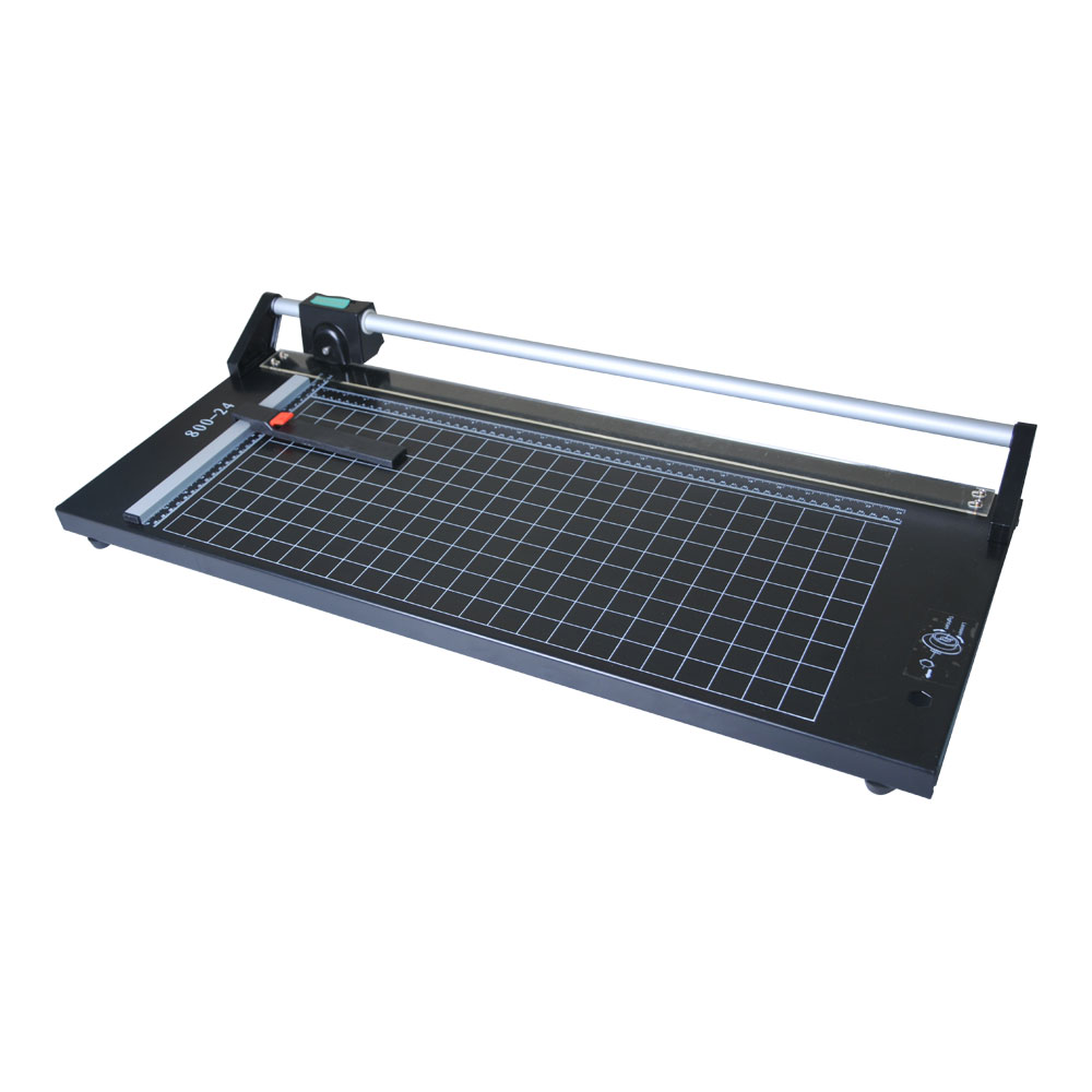 US Stock, CALCA 24 Inch Manual Precision Rotary Paper Trimmer, Sharp Photo Paper Cutter